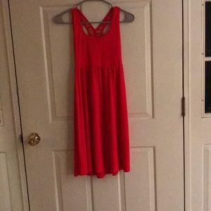 Comfortable coral Cynthia Rowley dress. Never worn